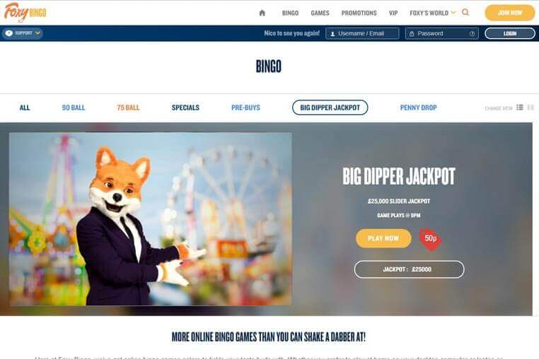 Foxy Bingo Promo Codes 2020 Full Review