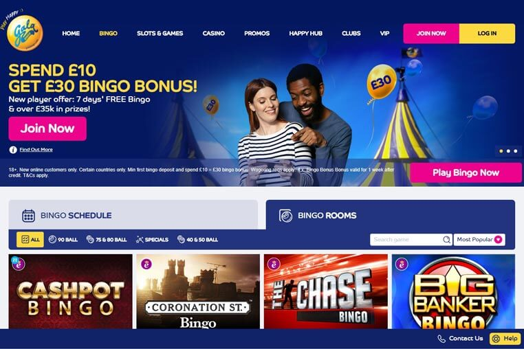 Gala Bingo casino promo codes 2019 extensive review
